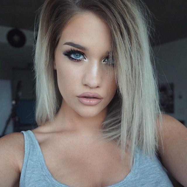 hair extensions ideas pictures - Liczba pomysłów na temat Platynowy Blond na Pintereście