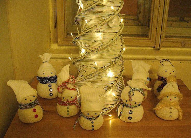 All my snowmen <3