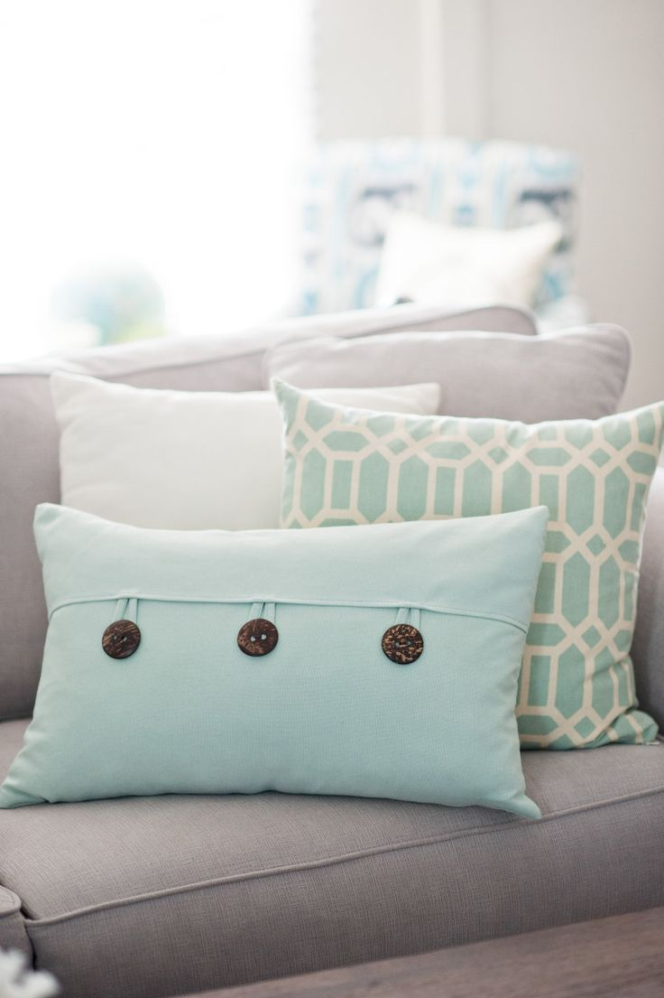 #pillows Photography by GinaCristineWeddings.Com  Read more - http://www.stylemepretty.com/2013/09/16/diy-playbooks-home-tour-from-gina-cristine/