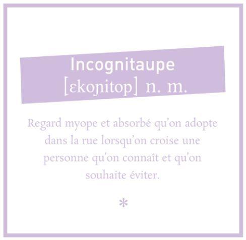 Incognitaupe