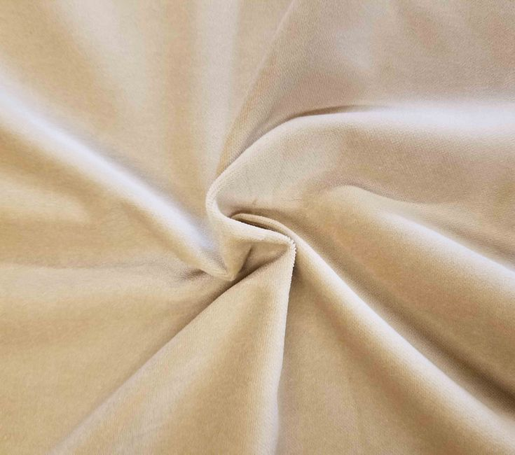 Luxurious Solid Cream 100% Cotton Velvet Velour Fabric for Upholstery Heavy Weight Curtain Drapery Material Sold by the Yard 54 inch Wide by LushesCurtains on Etsy