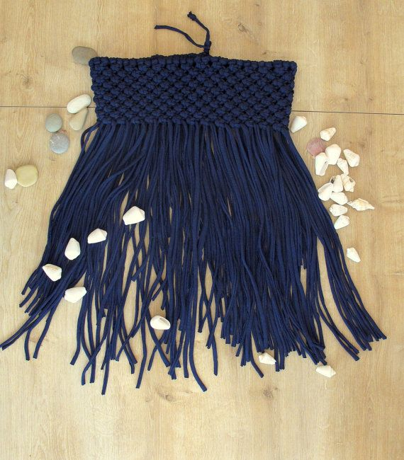 handmade beach skirt handwoven ladies skirt boho chic by WallKnot