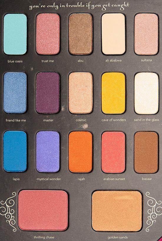 Disney Jasmine Storylook Palette (by Sephora)