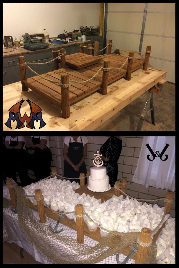 Wedding Cupcake Stand  Messier Metal Workz J&J Wood Workz 2015