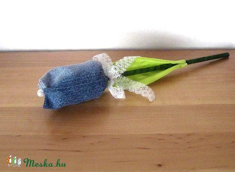 Meska - Farmer tulipán szálak - kék eszterszemek kézművestől