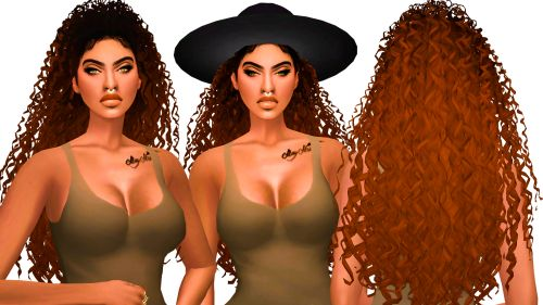 Ebonix Phaedra   8K+ Followers Gift    Dedicated the name of this hair to my fav baby Phae. I hope you enjoy playing with this hair as much as I did today. Don't forget to tag me, I need to cry in Spanish.   Let the slayage begin.    Unisex  8 Ombre Textures  All LODs  Hat Compatible but slight clipping with some hats  Zero Transparency  Disallowed for Random  Custom Thumbnail  HIGH POLY