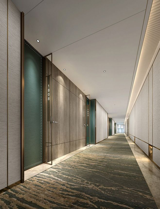 apartment corridors ideas - 658×861