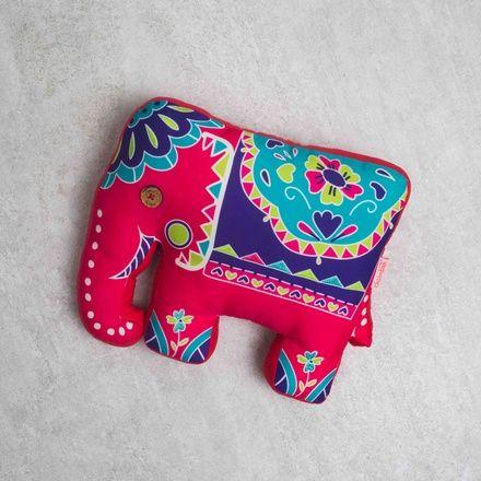 Buy Celebrations Elephant Shape Cushion Online - Chumbak