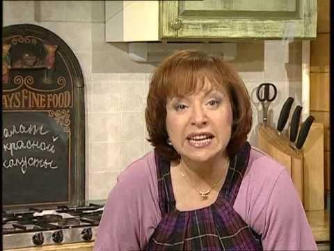 ▶ Салат из красной капусты - Елена Чекалова