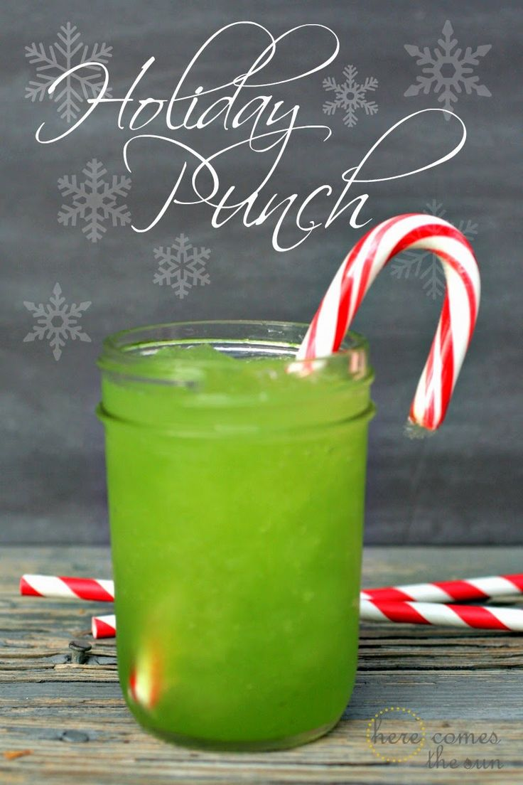 Delicious Holiday Punch Recipe that your guests will ask for again and again!