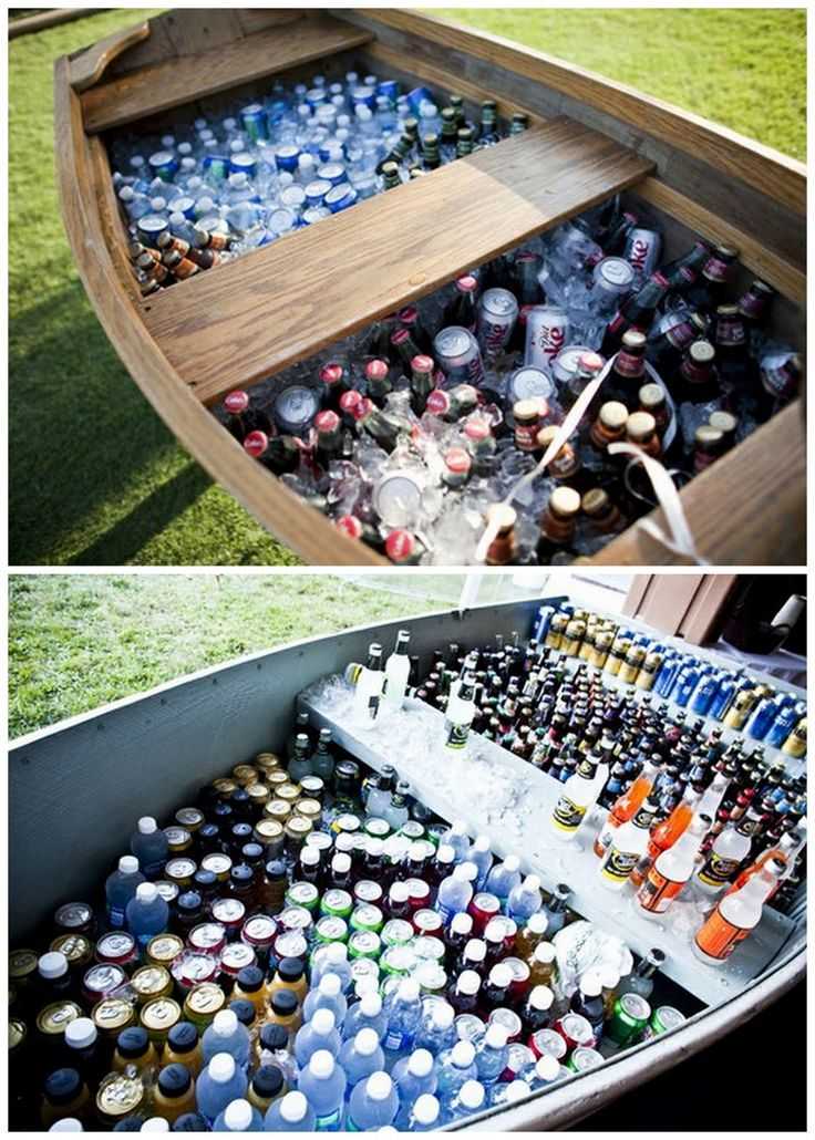 Row Boat As Drink Cooler Grad Party Ideas Pinterest
