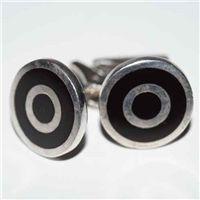 Antika Gümüş Kol Düğmeleri