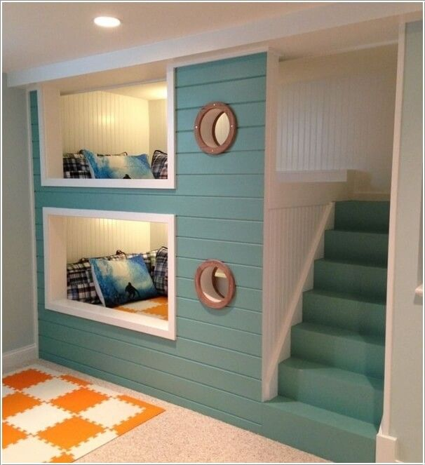 10 Cool Nautical Kids' Bedroom Decorating Ideas 1