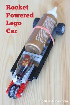 How to Build a Rocket Powered LEGO Car