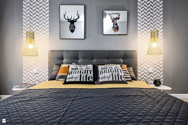 Sypialnia styl Skandynawski - zdjęcie od Partner Design - Sypialnia - Styl Skandynawski - Partner Design