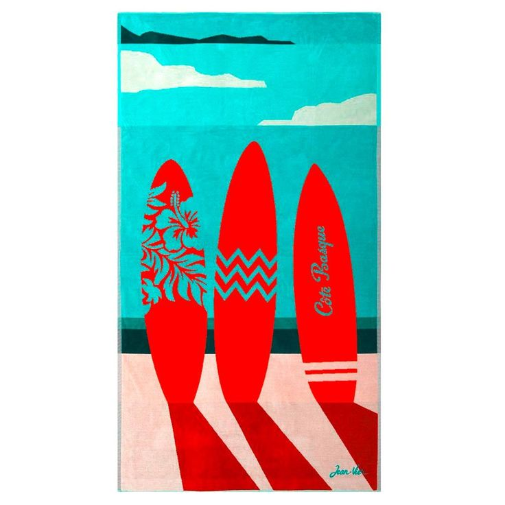 The Design Gift Shop - JEAN-VIER | Luxe Beach Towel | Cote Basque, AUD 115.00 (https://www.thedesigngiftshop.com/jean-vier-luxe-beach-towel-cote-basque/)