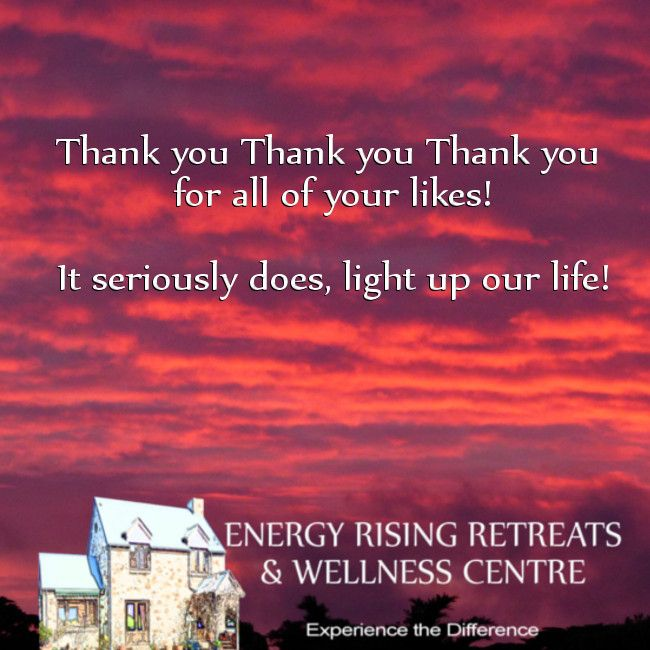 Thank you thank you thank you for 500 likes https://www.facebook.com/EnergyRisingRetreatsAustralia