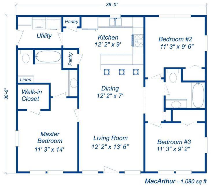 Nu steel homes floor plans