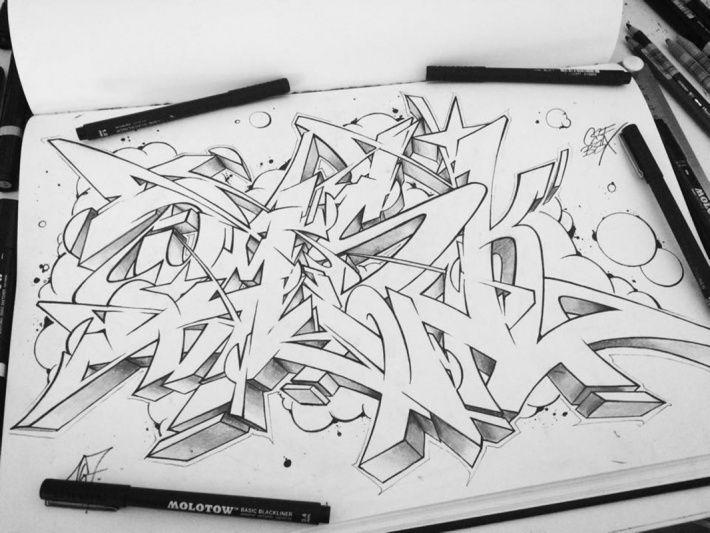 Bombing Science: Graffiti Blog - OMSK167