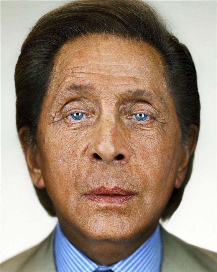 Valentino, photo by Martin Schoeller age 82