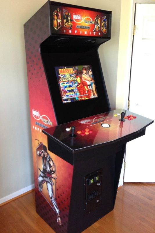 Custom Mame Arcade Cabinet Marvel Vs Capcom The Fight