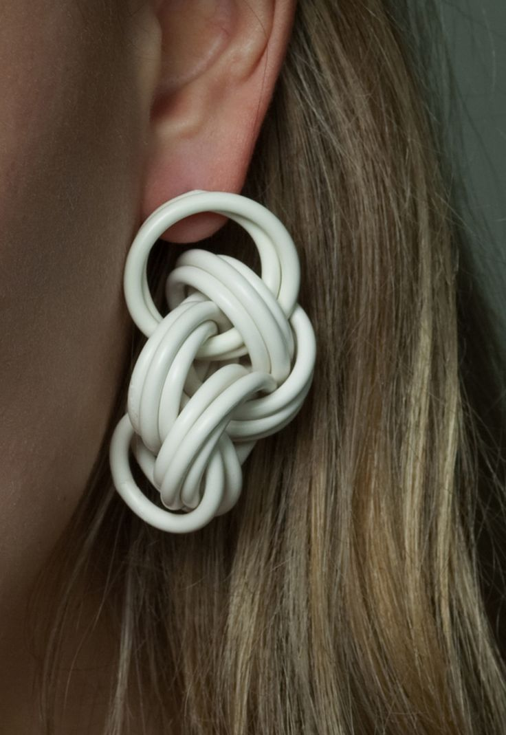 Cabling collection - earrings - www.scicche.it