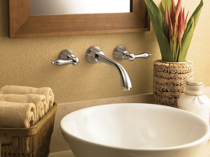 danze fairmont two handle wall mount faucet - Best Bathroom Fixtures Brands