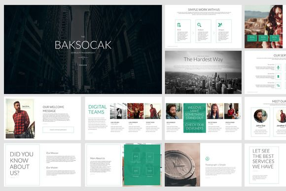 Baksocak Powerpoint presentation - Presentations