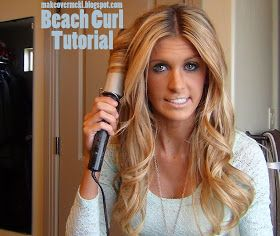 MaKeover with McKi: Beach Curls Tutorial