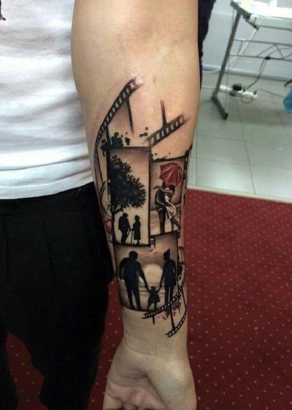 """Comme dit à juste titre: """"L'amour de la famille est la plus grande bénédiction de la vie …  – Tattoo"""