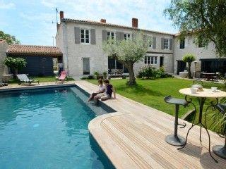 demeure+charme+luxe+8km+La+Rochelle++ile+de+ré,+piscine+chauffée,+sauna+++Location de vacances à partir de Marsilly @homeaway! #vacation #rental #travel #homeaway