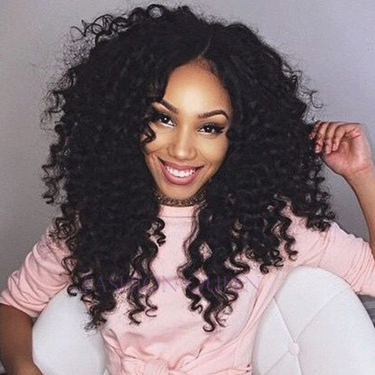 Black Kinky curly wig 12-26 inch long synthetic hair 1B colour afro kinky curl hair lace front wig for black woman factory price