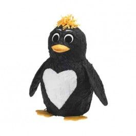 Penguin Piñata - Here's a fun little #family project that you can make and enjoy any time. ¡Qué feliz! laspalmassauces.com