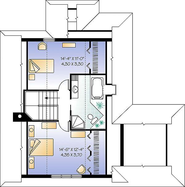European House Plans European House Plans Monster Cottage House Plans