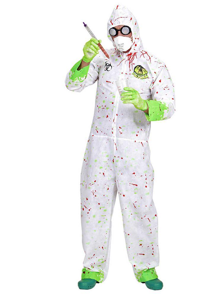 Disfraz de científico alocado para hombre | Comprar