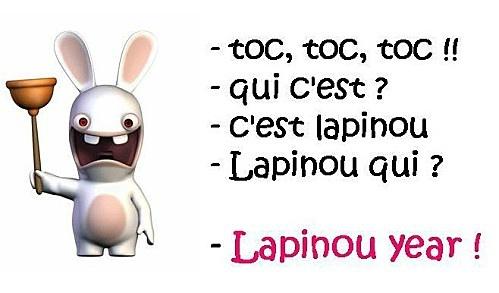 Lapinou year!!! :)