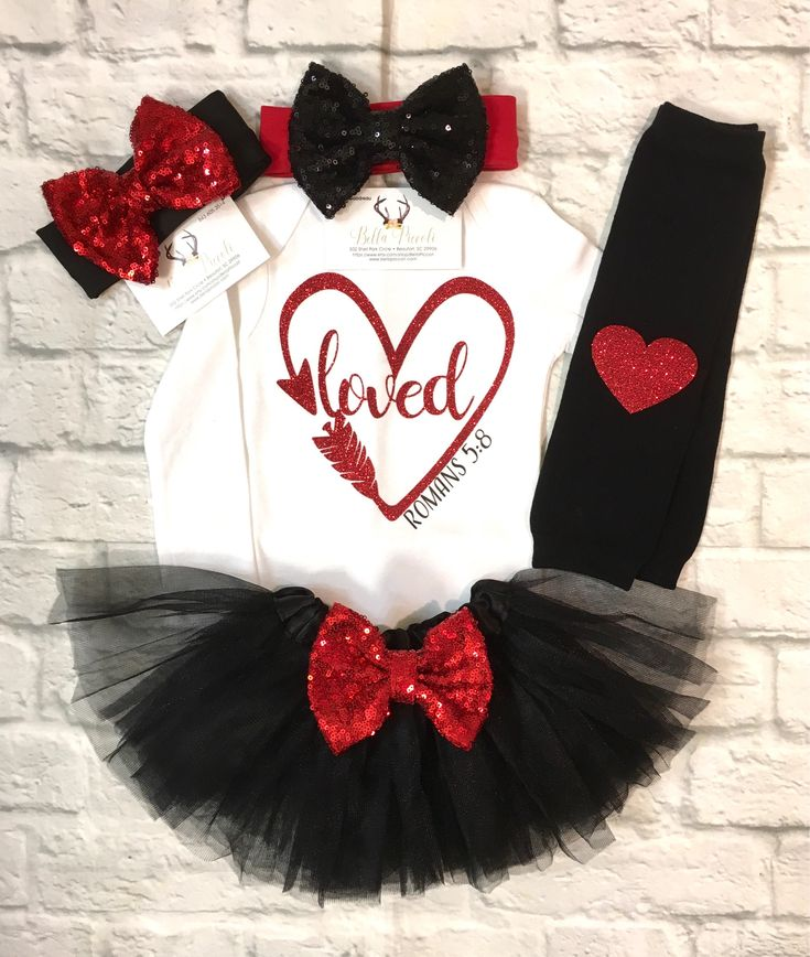 A personal favorite from my Etsy shop https://www.etsy.com/listing/569049824/baby-girl-clothes-valentines-bodysuit