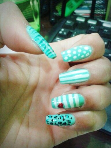 I love my nails!!