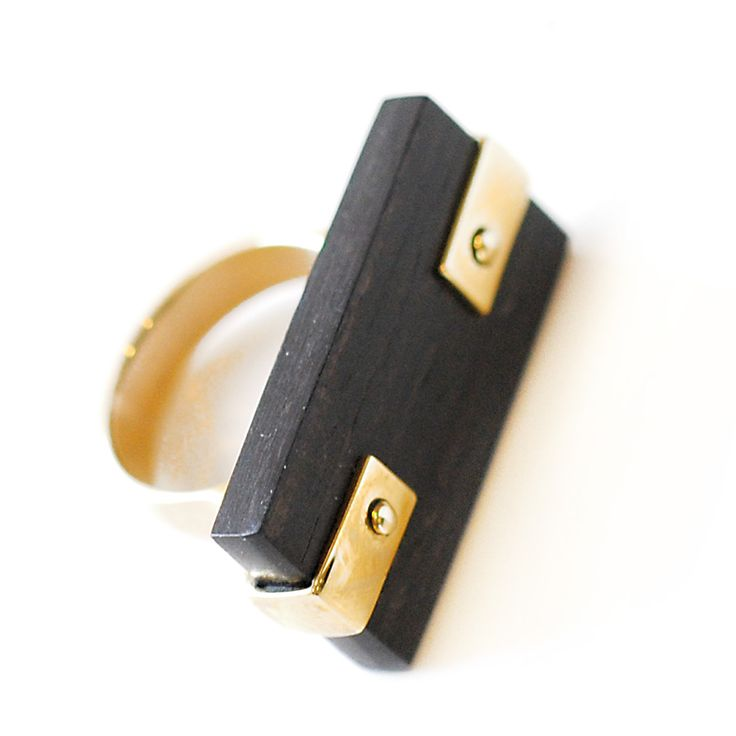 Karen London Wooden Ring