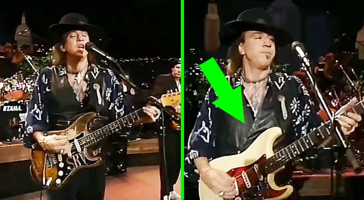 Stevie Ray Vaughan Pulls Off The Coolest Guitar Switch Ever When Strings Break - Watch Closely!