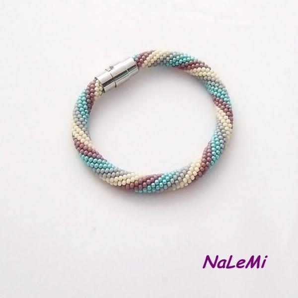 Bransoletka wąż  kolorowa w NaLeMi na DaWanda.com