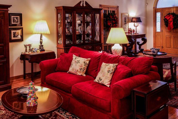 Oturma Odası, Büyük Oda, Noel Zamanı, Yılbaşı Süsleri