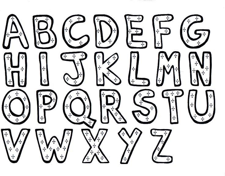 Free Download Dibujos Letras Para Colorear Abecedarios Alfabetos ...