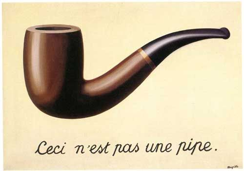 The Treachery of Images (La trahison des Images)  Magritte  1928–29