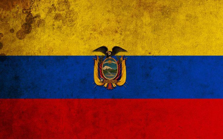 Bandera de Ecuador - Flag of Ecuador