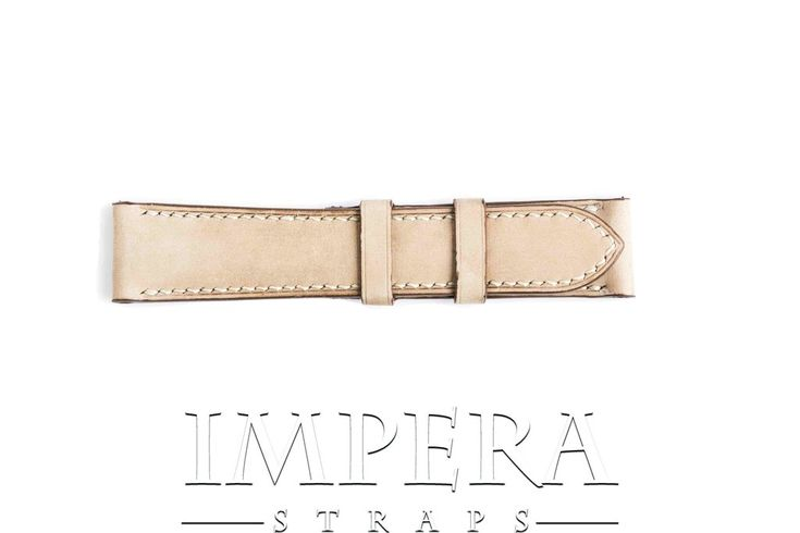 Vegetable Tanned Nubuck Natural Genuine Leather Watch Strap,https://www.imperastraps.com