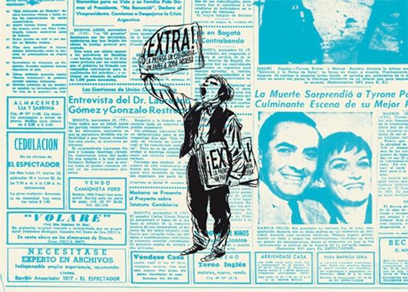 Exposición [Apertura 5:00 p.m.] Un papel a toda prueba: 223 años de prensa diaria en Colombia | banrepcultural.org