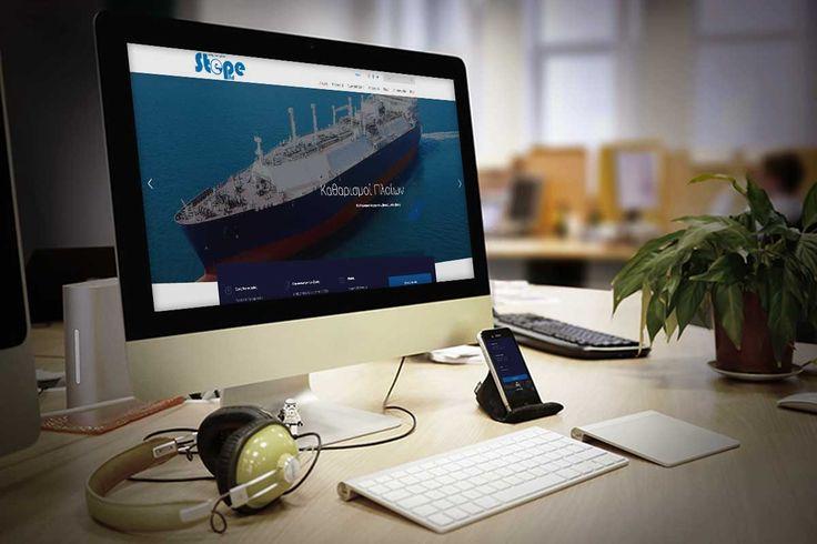 Κατασκευή ιστοσελίδας , ΣΠΕΠΕ ΕΠΕ , Αττική , Αθήνα, Καθαρισμοί πλοίων , εργοστασίων , διυλιστηρίων, Μοντέρνο στυλ , καθαρή μορφή, εταιρικό προφίλ