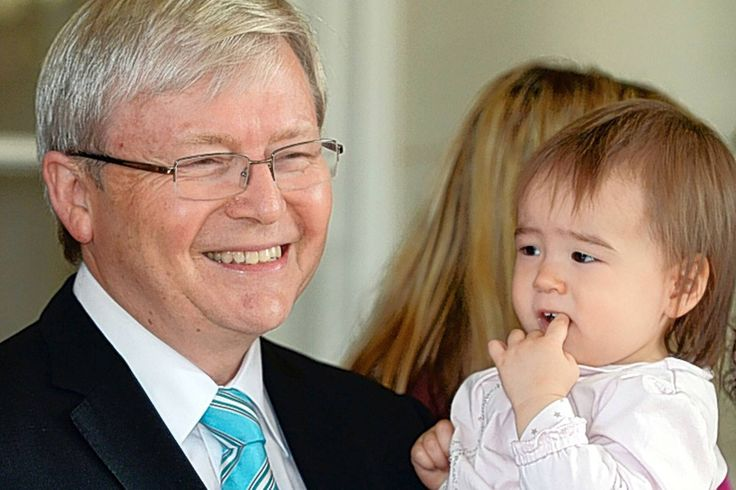 Let's be gentler, with each other, says new PM Kevin Rudd after coup