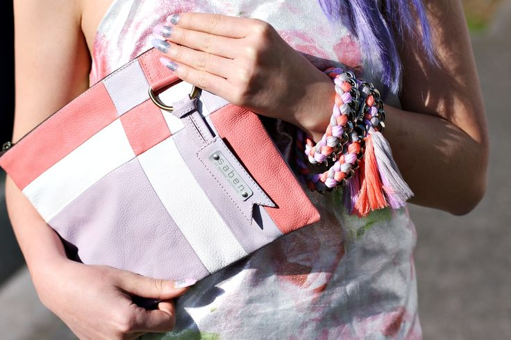 A sneak preview of the shoot with photographer Sabenette Julie + @Little Black Book xx Nettie + BFF Necklace as a bracelet